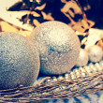 Christmas bauble decoration — Stock Photo