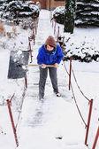 Inverno lavoro — Foto Stock