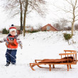 Winter spellen — Stockfoto #37252097