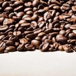 Coffee beans border — Stock Photo #49355043