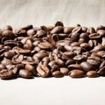 Coffee beans border — Stock Photo #49355543