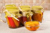 Marinated paprika — Stock Photo