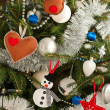 Christmas tree decorations — Stock Photo #18097749