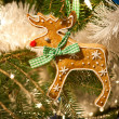 Stock Photo: Gingerbread Rudolph