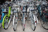Bicycle parking — Stock Photo