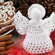 Crochet angel — Stock Photo #38065061