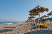 Beach in Kalamaki, Greece — Stock Photo