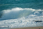 Waves crushing — Stockfoto