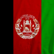 Flag of Afghanistan — Stock Photo