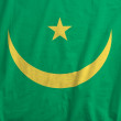 Stock Photo: Flag of Mauritania