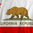 Flag of California Republic, USA — Stock Photo