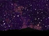 Night Sky View — Stock Photo
