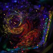 Chaotic fractal illustration — Stock Photo