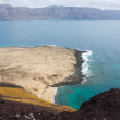 View of La Graciosa — Stock Photo