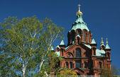 Uspenskin katedraali, helsinki, finsko — Stock fotografie