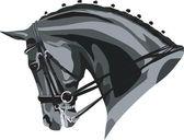 Horse head — Stock Vector