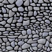 Dark seamless stone pattern — Stock Vector