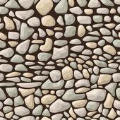Seamless stone pattern — Stock Vector