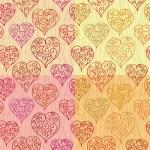 Hearts seamlees pattern — Stock Vector