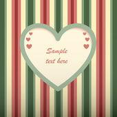 Carte de Saint Valentin. — Vecteur