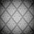 Royalty-Free Stock Vector Image: Damask pattern gray