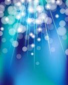 Shiny turquoise background — Stock Vector
