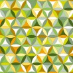 Flower of life seamless pattern autumn — Stock Vector #46041799