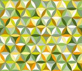Flower of life seamless pattern autumn — Stock Vector
