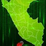 Map of Peru — Stock Vector