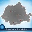 Map of Romania — Stock Vector #39312645