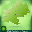 Map of Midi-Pyrenees — Stock Vector #39315909