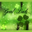 Stock Photo: Greeting Card Good Luck
