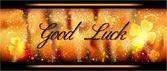 Greeting Card Good Luck — Stock Photo