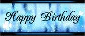 Přání k narozeninám — Stock fotografie