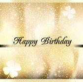 Greeting card Happy Birthday — Stock Photo