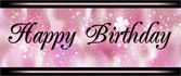 Cartão feliz aniversário — Foto Stock