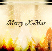 Greeting card Merry X-Mas — Stock Photo