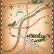 Treasure map — Stock Vector #41191055
