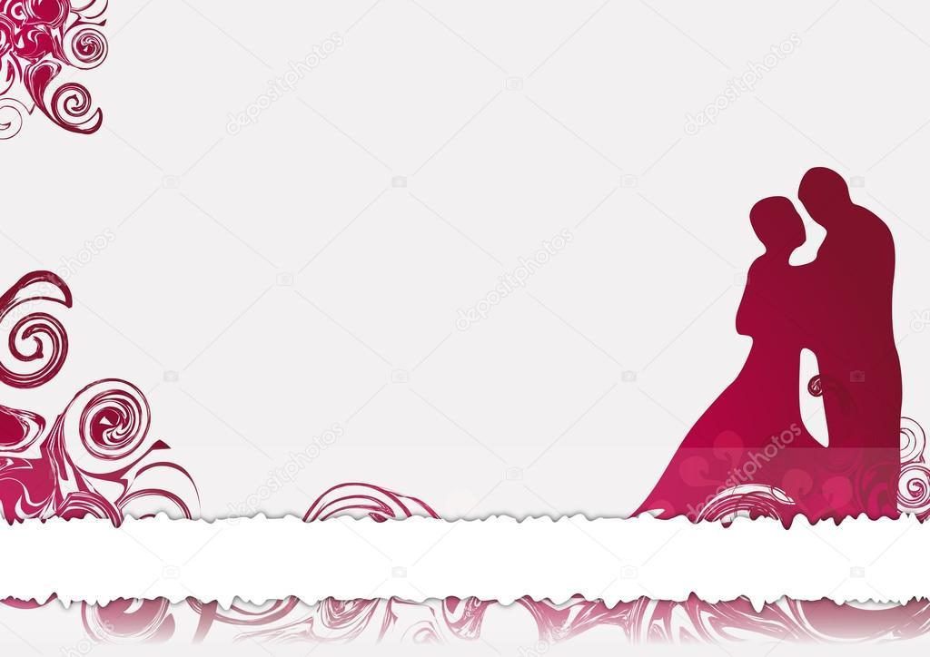 carte de flicitations pour mariage illustration - Formule Felicitation Mariage