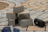 Paving materials — Stock Photo