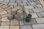 Paving materials — Stock Photo