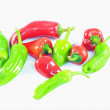 Stock Photo: Cayenne peppers