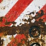 Grunge Stripe Background — Stock Photo