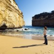 Royalty-Free Stock Photo: Loch Ard Gorge