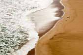Beach Sand Waves — Stock Photo