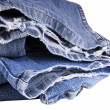 Stock Photo: Torn Jeans