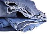 Torn Jeans — Stock Photo