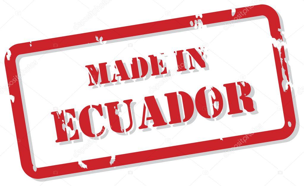 Ecuador Vector Vector de Hecho en Ecuador
