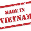 Royalty-Free Stock Vector Image: Made In Vietnam Stamp