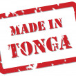 Tonga Stamp - Stock Vector